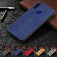 For Xiaomi Redmi 6 Note 7 Shockproof Cloth Texture Soft Silicone TPU Case Cover