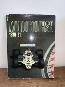 AUTOCOURSE 1980-81 F1 Grand Prix Motor Racing Annual