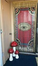 The Eye Beaded Bamboo Curtains Decor Panel Drape Window Office Dividers Wall Art