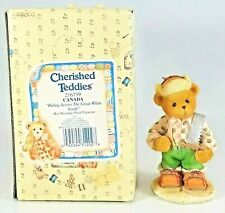 Cherished Teddies 1996 Canada Riding Across the Great White North #216739