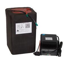 72V 30AH Lithium Li-ion Battery Portable Battery E-Bike Scooter Power Packs+BMS