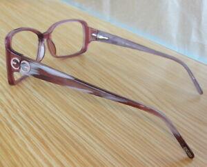 N.Mint ESCADA VES017 56-14 COL.971 135 Purple/Marble Eyeglasses frames 56mm lens