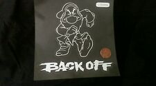 New Grumpy back off laptop Disney Car Decal Sticker bad driver tailgater