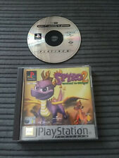 PS1 SONY PLAYSTATION 1 PAL SPYRO GATEWAY TO GLIMMER ACCEPTABLE CN BOXED FREE P&P