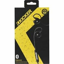 KICKER 44EB400BTB WATERPROOF SPORT EARBUDS W/BLUETOOTH