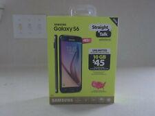 Samsung S6 - 32GB - Black Sapphire (Straight Talk) Smartphone (SM-S907VL)