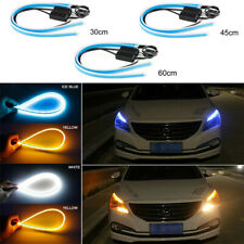 2x Car LED Light Strip Lamp Headlight Brake Side Turn Signal DRL Running Light
