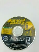 Nintendo GameCube NGC Disc Only Tested Pac-Man World 2 Ships Fast