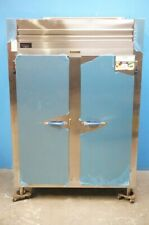Traulsen Two Section Stainless Steel Doors Pass Through Heated Holding Cabinet