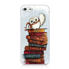 Cute harry potter owl Hedwig Soft TPU Case Cover For iphone 6 6s 5S 7 8 Plus X