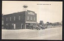 Postcard FEDERALSBURG Maryland/MD  City Fire Department Trucks & Station 1920's