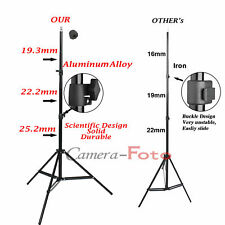Photo Studio 2m 7ft Light Stand Adjustable Tripod for Softbox Flash Lighting Kit
