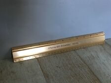 Vintage Ruler!  JCPenny 90th Anniversary 1902-1992 Gold Tone Ruler!  Rare