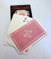 S.S. ADAMS' CARD MAGIC (1960s) / Vintage Magic Card Trick