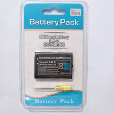 2000mAh 3.7V Rechargeable Battery Pack + Tool Kit for Nintendo 3DS 2DS Game