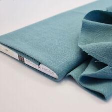Piedra Lavado 100% Lino - Verde Azulado - Tela para Confección Moda