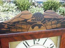 ANTIQUE MARSH, GILBERT & CO. FEDERAL STYLE MIRRORED SHELF CLOCK