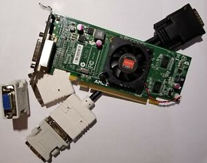 AMD Radeon HD 6350 5450 Dual Monitor Display Windows 10 VGA DVI HDMI Video Card