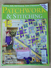 Patchwork & Stitching Vol 5 #10~Quilts~Hobby Horse~Doll~Bags~No Girls Allowed