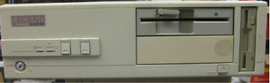Vintage Packard Bell PB400 Desktop computer  Boots to BIOS Legend 730  486DX2-66