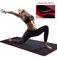 Esterilla Yoga Gimnasia Fitness Pilates 183x61x10mm. Antideslizante, impermeable