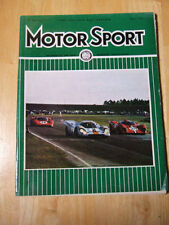 March Motorsport Cars, 1970s Magazines in English