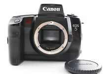 Canon EOS 5 35mm SLR Film Camera works Excellent Made In Japan Fedex #7161
