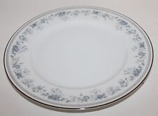 Lenox Bouquet Collection BLUETS Serving Platter - Blue White Floral Platinum-12""