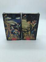Ambassador MAGMA VHS Vol 1 & 2 EPS 1-5 Very Rare Anime FREE SHIPPING