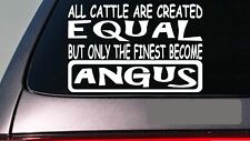 "Black Angus all cattle equal 6"" sticker *E476* decal vinyl ranch cowboy bull cow"