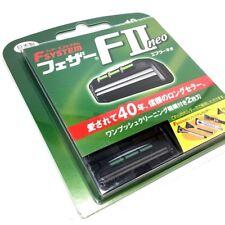 Feather F-system F2 Neo Rasoir de rechange Lame Recharge 10blades Fabriqué en