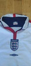 Inglaterra 2003/2005 Hogar Camiseta De Fútbol Umbro Euro 2004