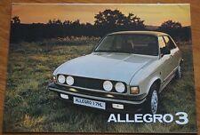 Allegro 3 Brochure