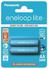 Lot de 2 piles accus AA rechargeables Eneloop 950 mAh