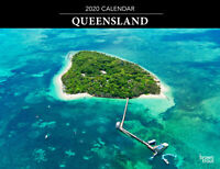 Queensland 2020 Horizontal Wall Calendar by Browntrout Free Post