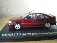 renault safrane biturbo baccara 1993 1/43 UH bordeaux ref 5091