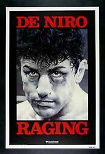 Raging Bull Rolled Original Advance Movie Poster With De Niro Winning Oscar