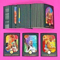 1995-96 SKYBOX EXL E-XL BASKETBALL COMPLETE SET 100 MICHAEL JORDAN KEVIN GARNETT