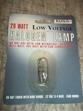 Usa Lighting 20W 12V G-4 Base 1500 Hours Halogen Low Voltage Lamp Light Bulb