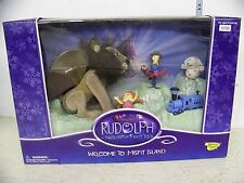 Rudolph the Red Nose Reindeer Figure Set Welcome to Misfit Island