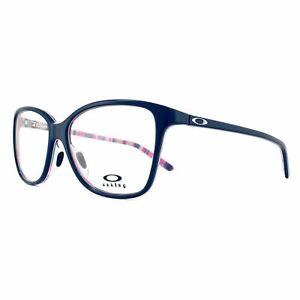 Oakley Glasses Frames Finesse OX1126-05 Blue Magenta Stripes 54mm Womens