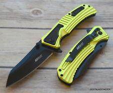 MTECH SPRING ASSISTED TACTICAL FOLDING POCKET KNIFE WITH POCKET CLIP