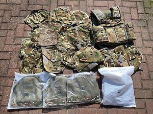 British Army OSPREY MK4 MTP Body Armour Cover Vest 180/104 And Parts Job Lot