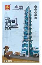 The Taipei 101 Of Taiwan China Building Blocks Bricks - Wange