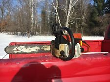 Used Stihl 021 Gas Powered Chainsaw For Parts Only parts saw MS210 firewood