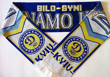 DYNAMO KIEV Football Scarves NEW from Superior Acrylic Yarns