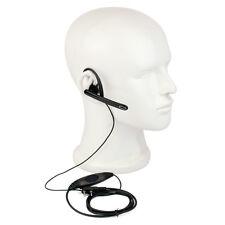 2-Pin Ear Bar Earpiece Mic PTT Headset for Kenwood BAOFENG UV5R Retevis H777 TYT