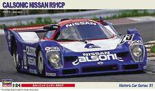Hasegawa 21131 Calsonic Nissan R91CP 1/24 Neu
