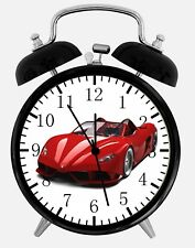 "Super Car Alarm Desk Clock 3.75"" Home or Office Decor Z83 Nice For Gift"