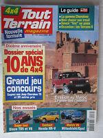 TOUT TERRAIN N° 116 /DISCO TD5-V8/HONDA HR-V/V6 OPEL-MITSUBISHI/TREUIL CHEROKEE